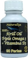 Krill Oil Triple Omega + Vitamina D3