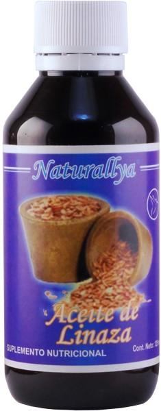 Aceite de linaza 250 ml 1206 mxn naturallya - Precio aceite de linaza ...
