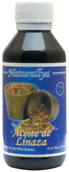 Aceite de linaza 125 ml 1103 mxn naturallya - Precio aceite de linaza ...
