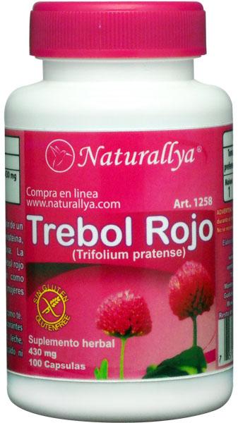 Red clover trebol rojo 100 capsulas 430mg 1258 mxn naturallya store tu - Donde comprar arroz salvaje ...